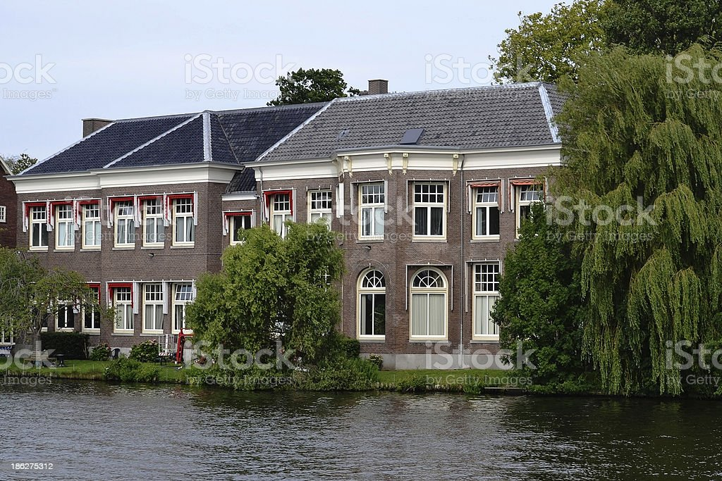 Typical Dutch house. royalty-free stock photo