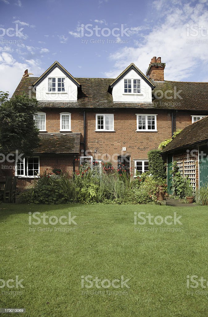 Typical English Victorian House royalty-free stock photo