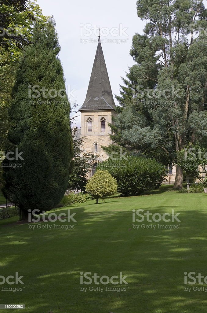 Typical English Village Church royalty-free stock photo