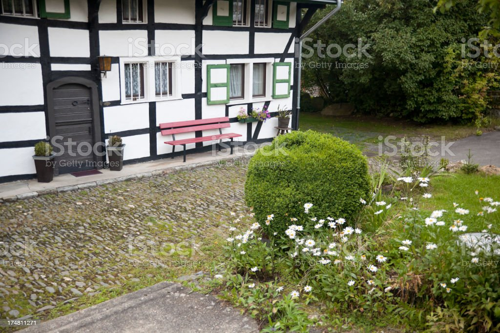 typical German house royalty-free stock photo