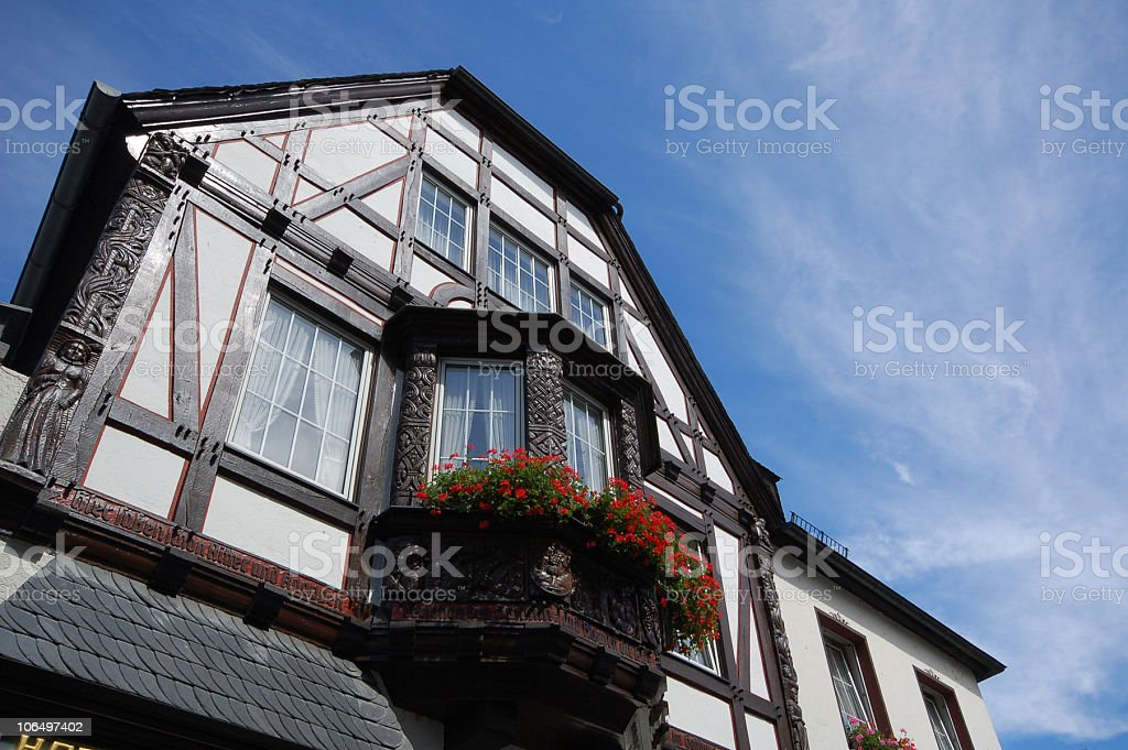 typical Half-Timbered stock photo