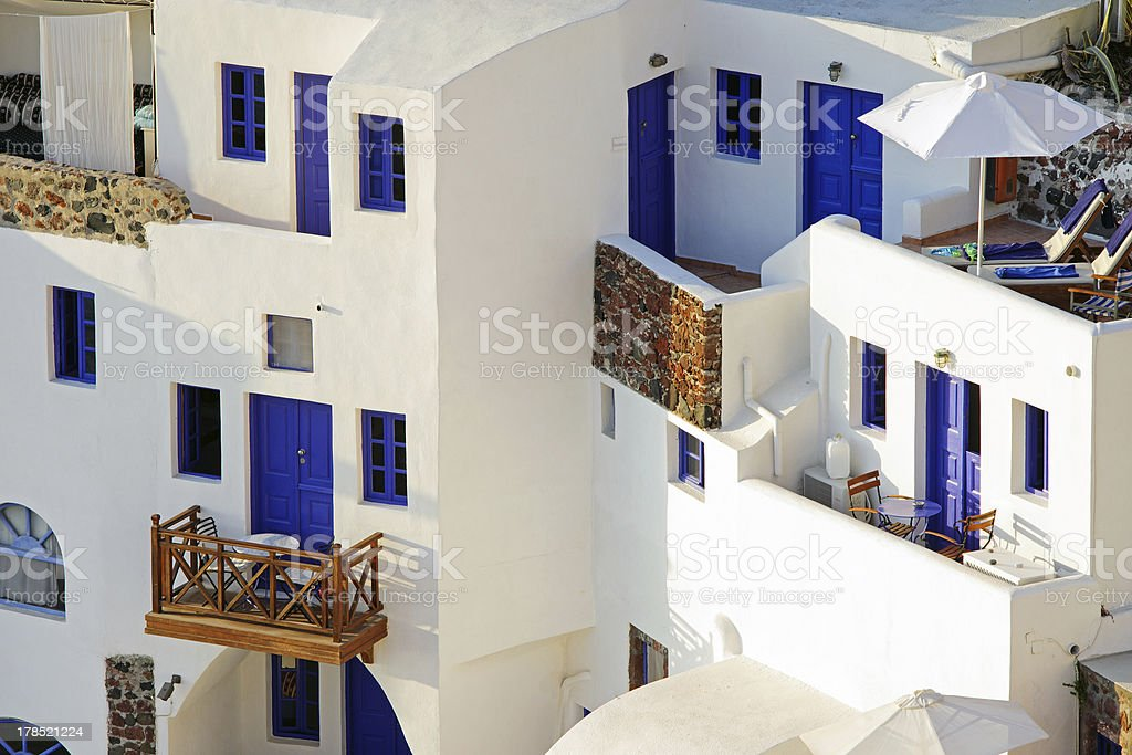 Typical house on the Cyclades royalty-free stock photo