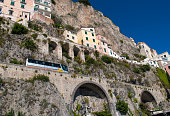 Typical houses from Amalfi coast, Italy