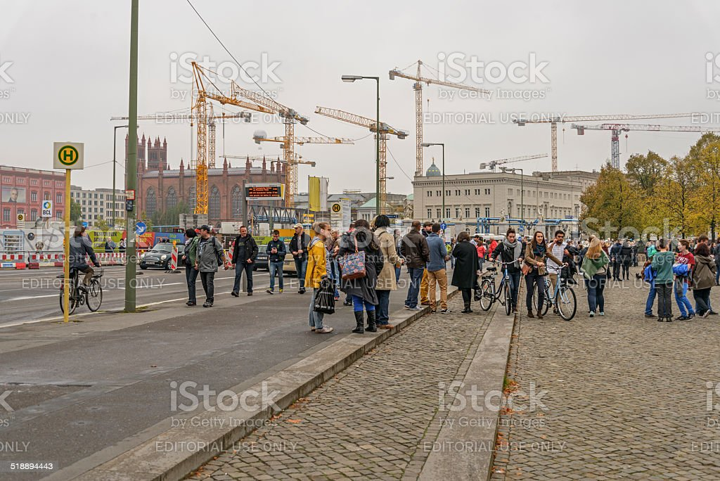 Typical image of Berlin stock photo