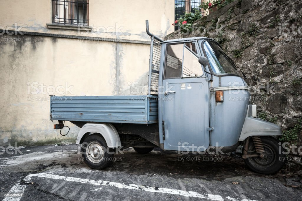 Typical Italian vehicle stock photo