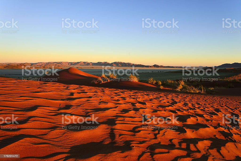 Typical landscape at the famous Kanaan Farm royalty-free stock photo