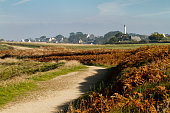Typical landscape in the Finistere, Bretagne - France