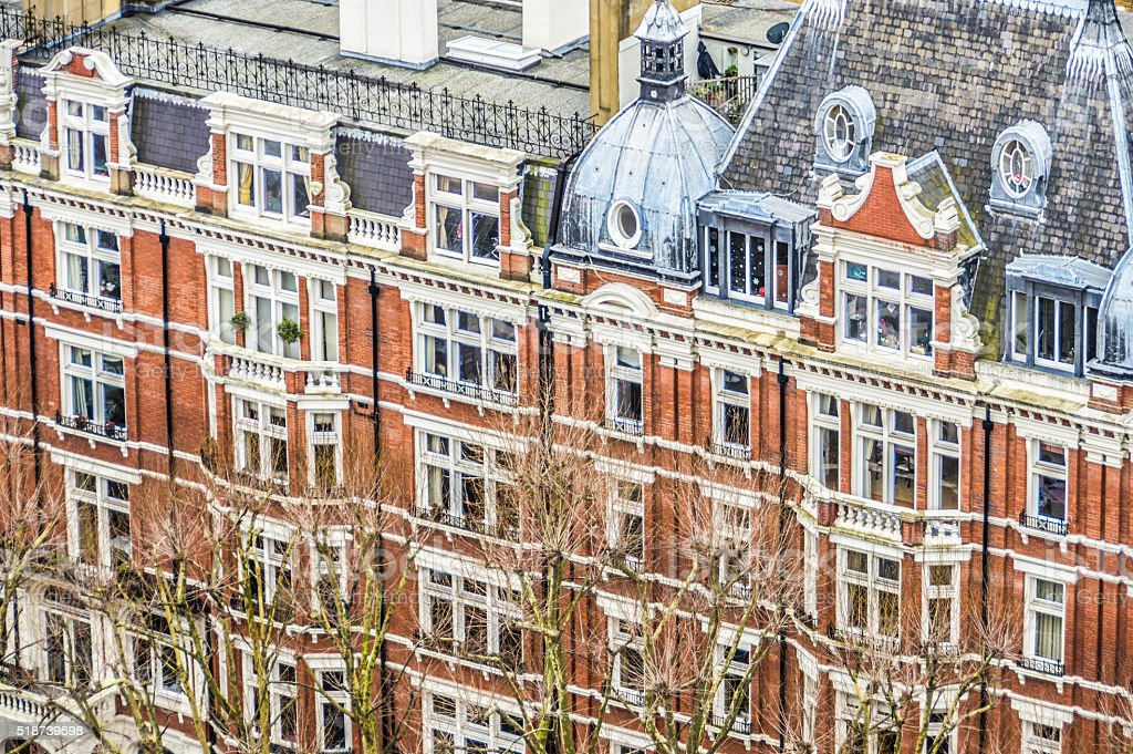 Typical London Architecture stock photo