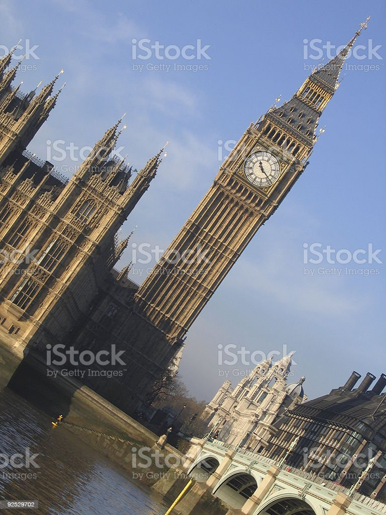 Typical London´s card royalty-free stock photo