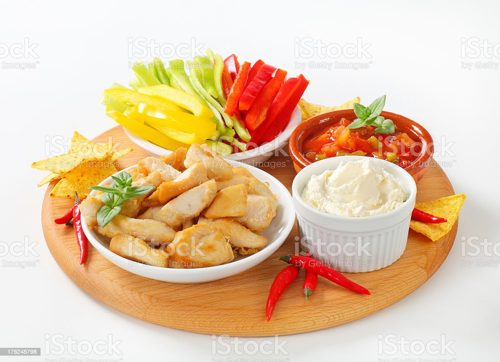 typical mexican food royalty-free stock photo