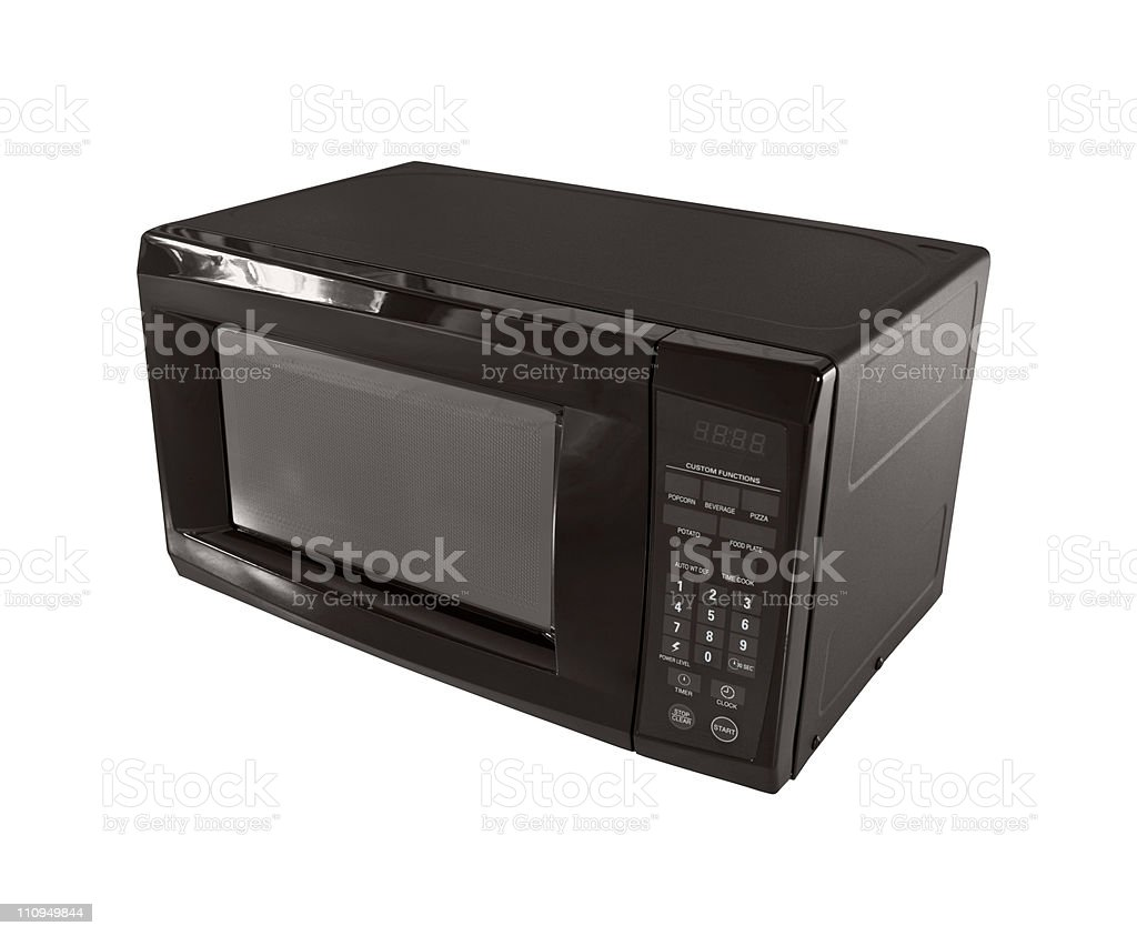 Typical Microwave stock photo