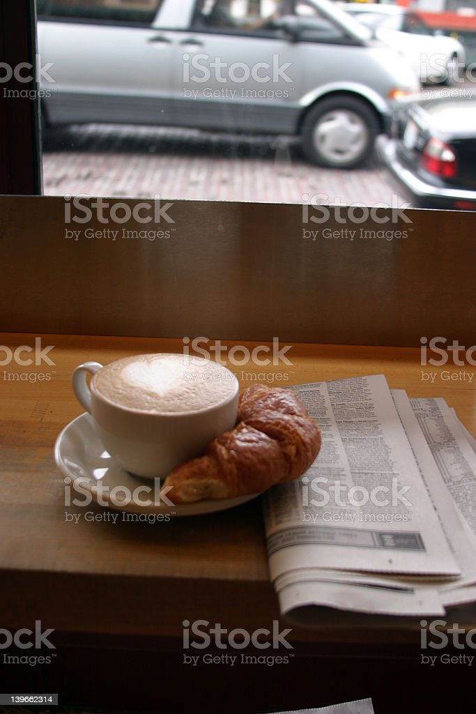 Typical Morning in Seattle Washington U.S.A. royalty-free stock photo