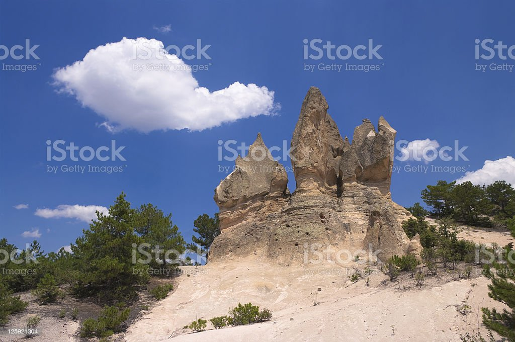 Typical Rock Formation royalty-free stock photo