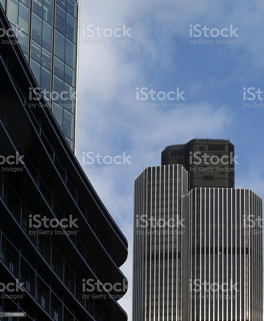 Typical tower block stock photo