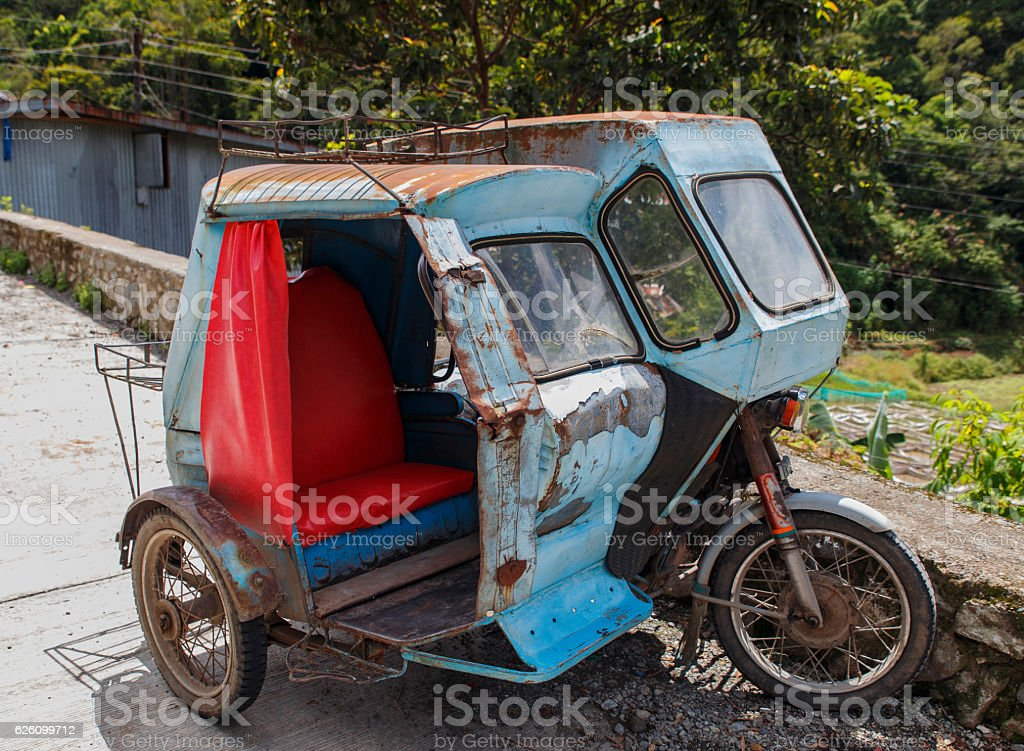 typical vehicle-philippines stock photo