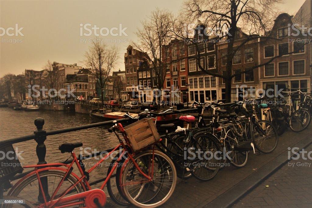 Typisch Amsterdam stock photo