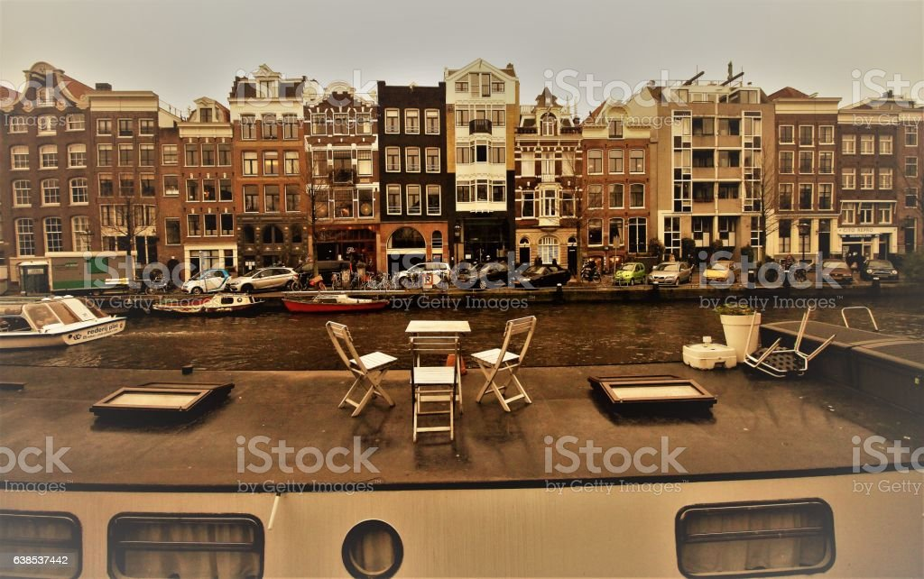 Typisch Amsterdam stock photo
