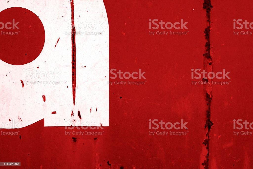 Typographic Background royalty-free stock photo