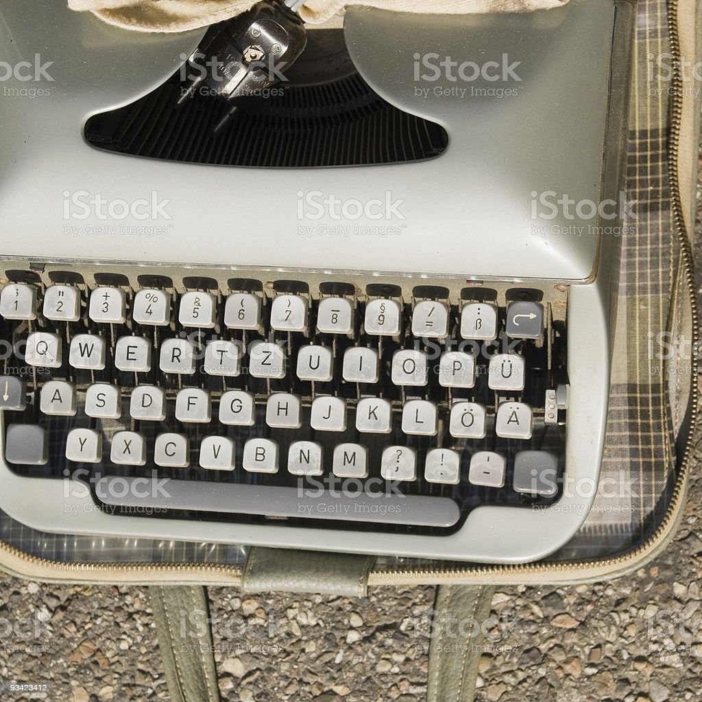 Typwriter royalty-free stock photo