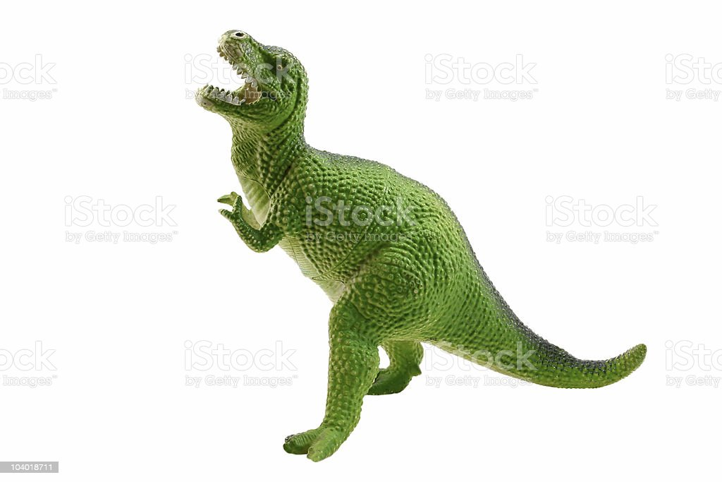 Tyrannosaur royalty-free stock photo