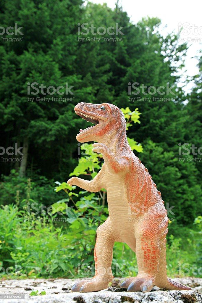 Tyrannosaur stock photo