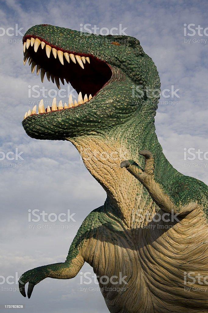 Tyrannosaurus Rex Dinosuar stock photo