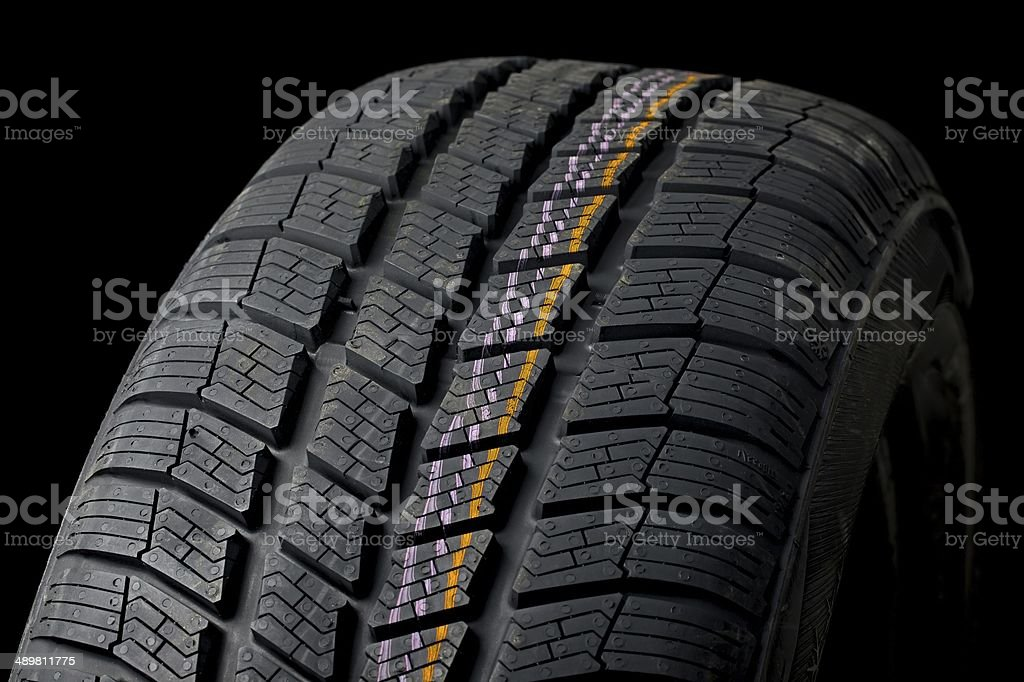 Tyre deatil royalty-free stock photo