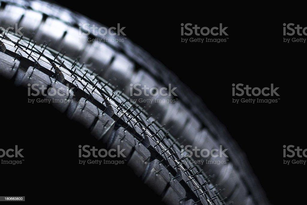 Tyre detail royalty-free stock photo