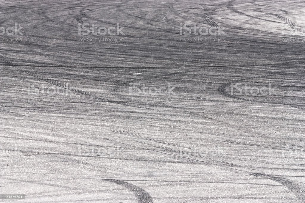 Tyre track backgrounds royalty-free stock photo