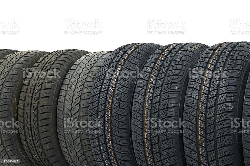 Tyres royalty-free stock photo
