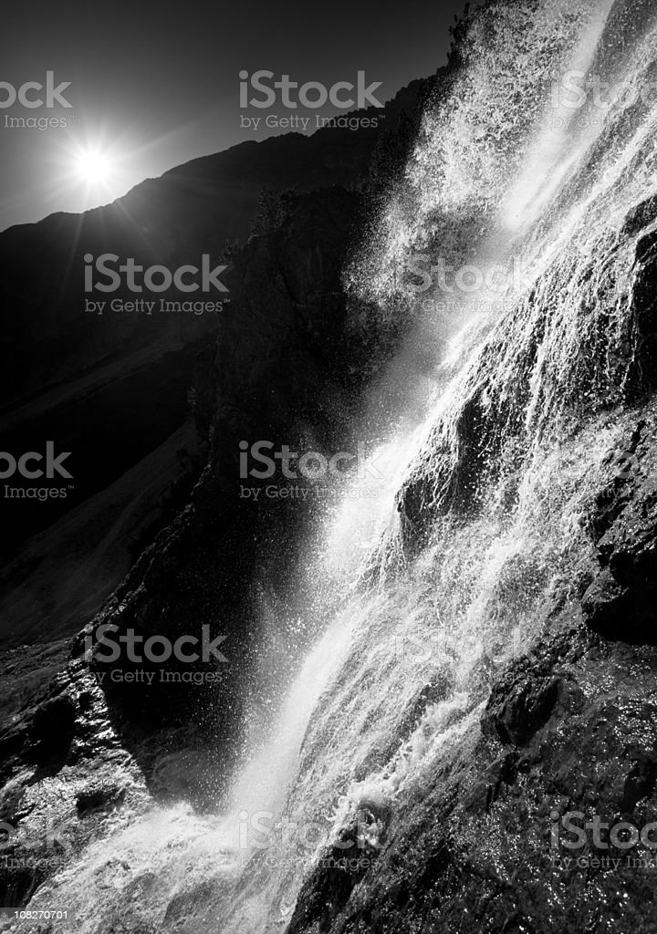 tyrolean cascade royalty-free stock photo
