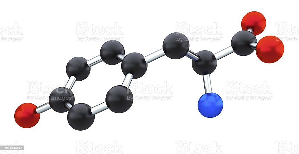 tyrosine stock photo