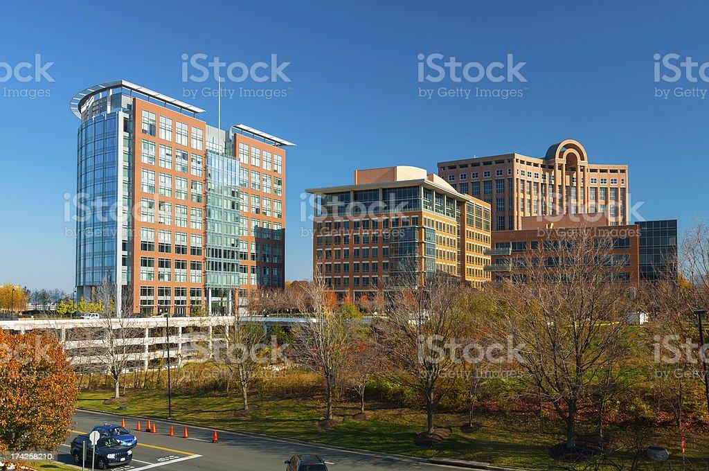 Tysons Corner, VA buildings stock photo