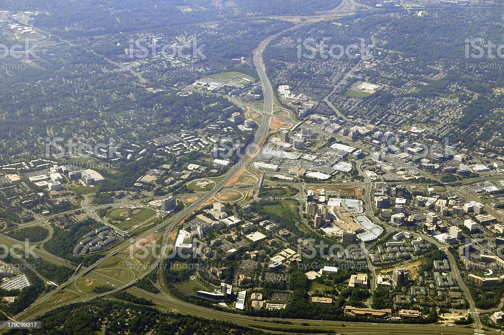 Tysons Corner, Virginia stock photo