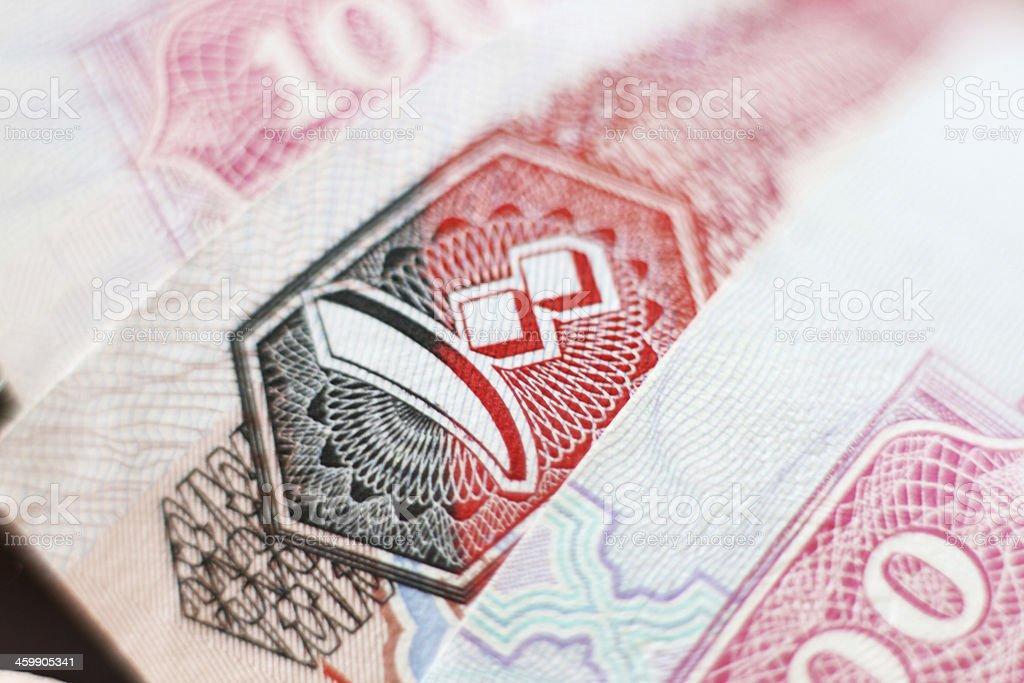 uae dirhams royalty-free stock photo