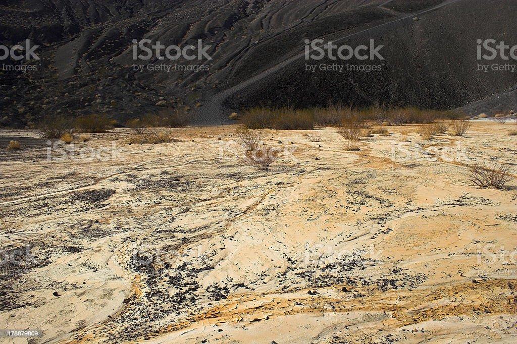 Ubehebe Volcano royalty-free stock photo
