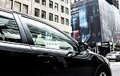 Uber car service in New York City