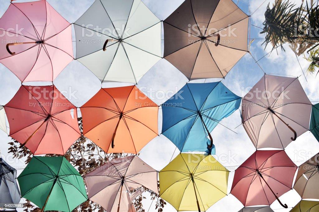 Ubrellas stock photo