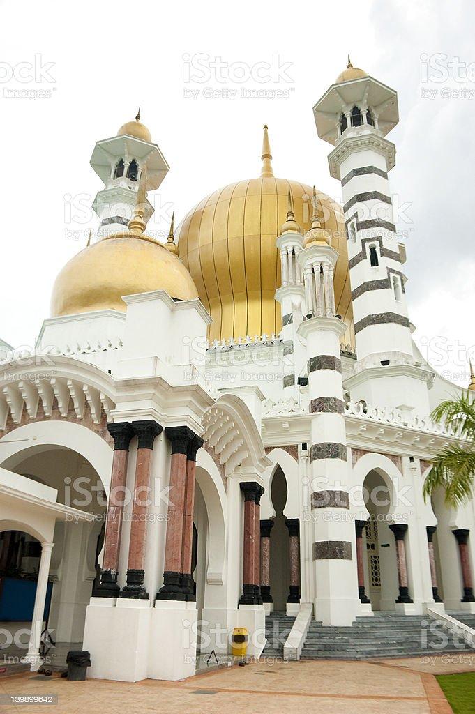 Ubudiah Mosque royalty-free stock photo