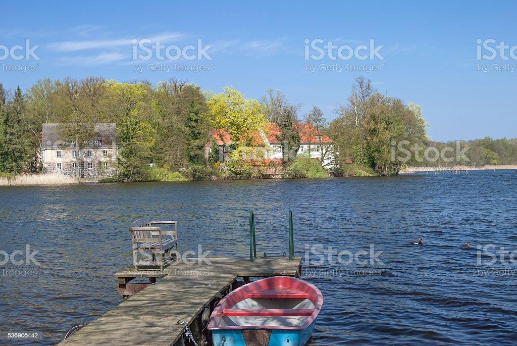 Uckermark,Templin,Brandenburg,Germany stock photo