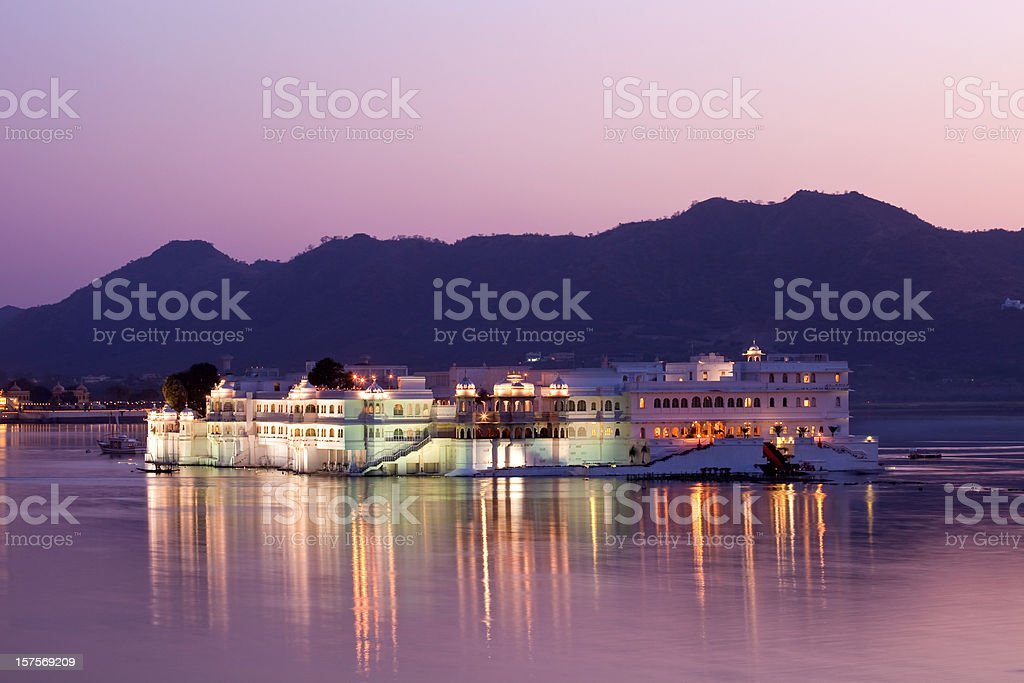 Udaipur Lake Palace royalty-free stock photo