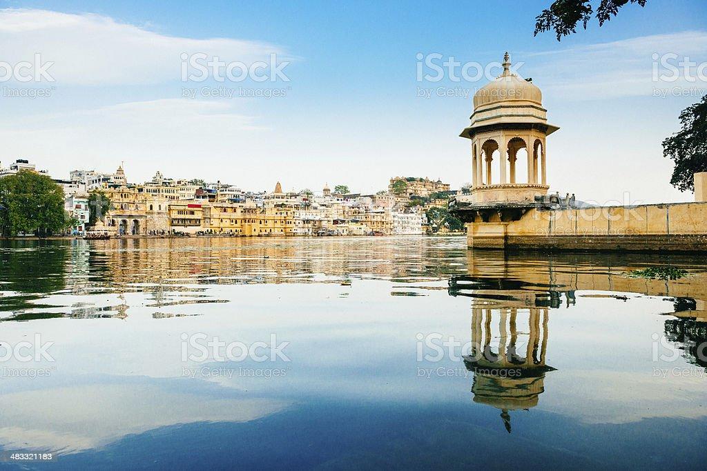 Udaipur Skyline India stock photo