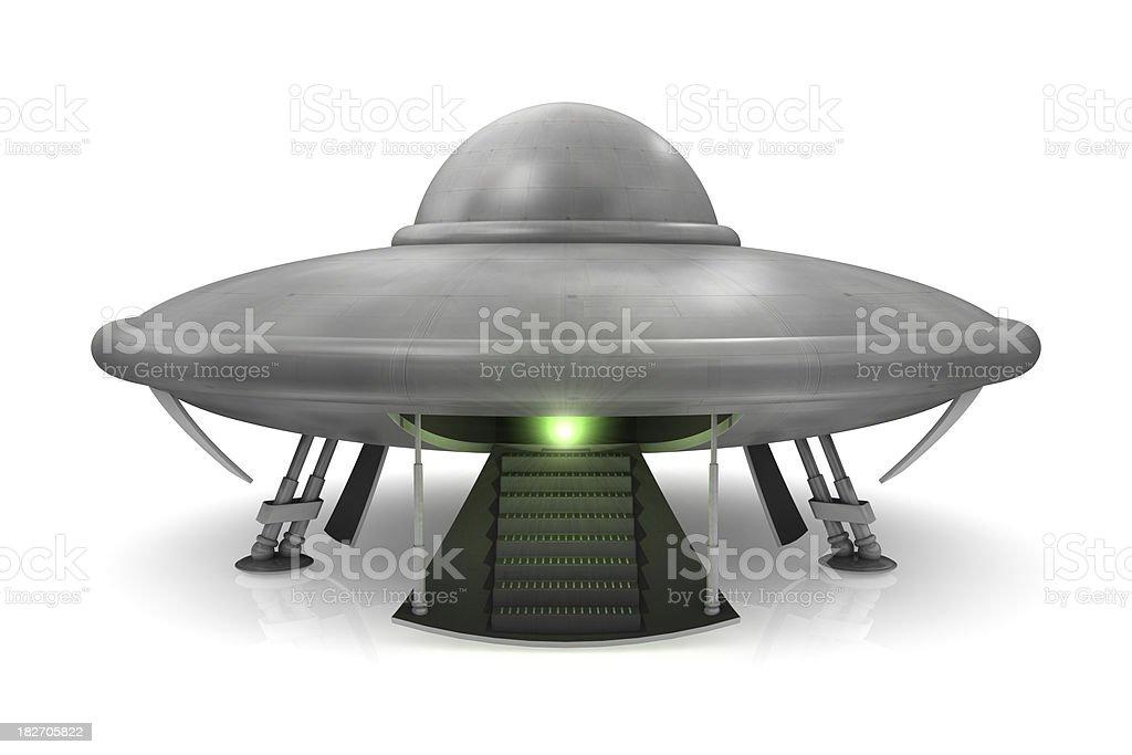 Ufo Landed royalty-free stock photo