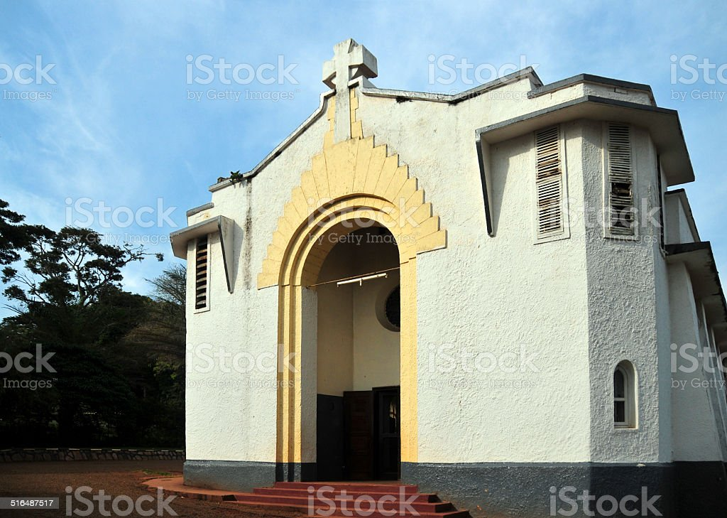 Uganda - Entebbe - St John's Church stock photo