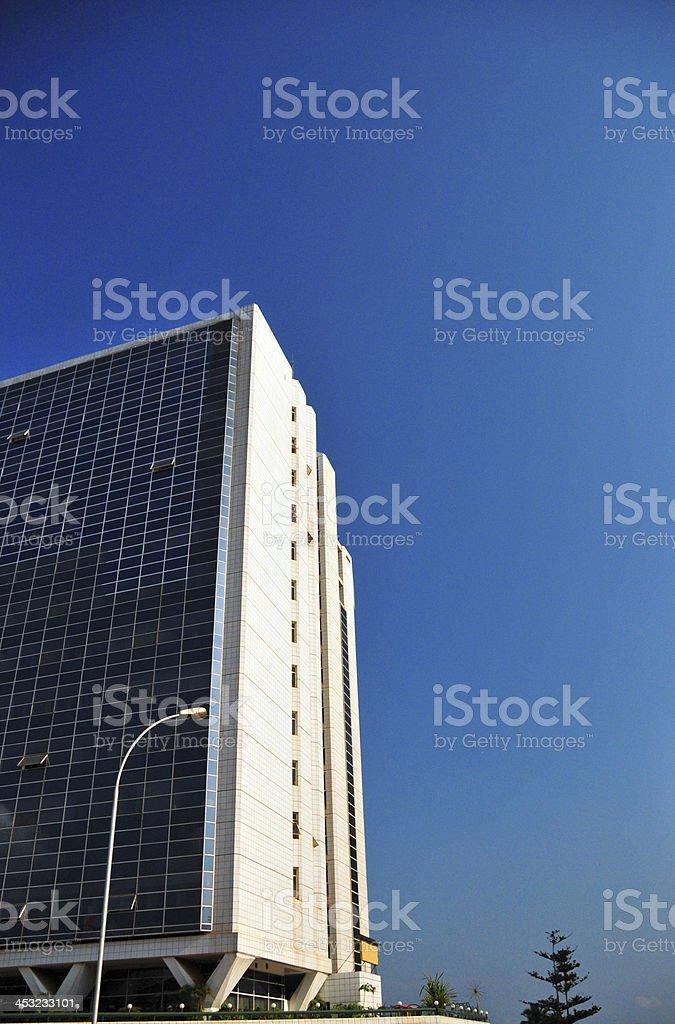 Uganda - Kampala, Communication House, Colville Street royalty-free stock photo