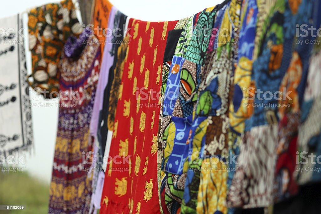 Uganda: Tourist Marketplace stock photo