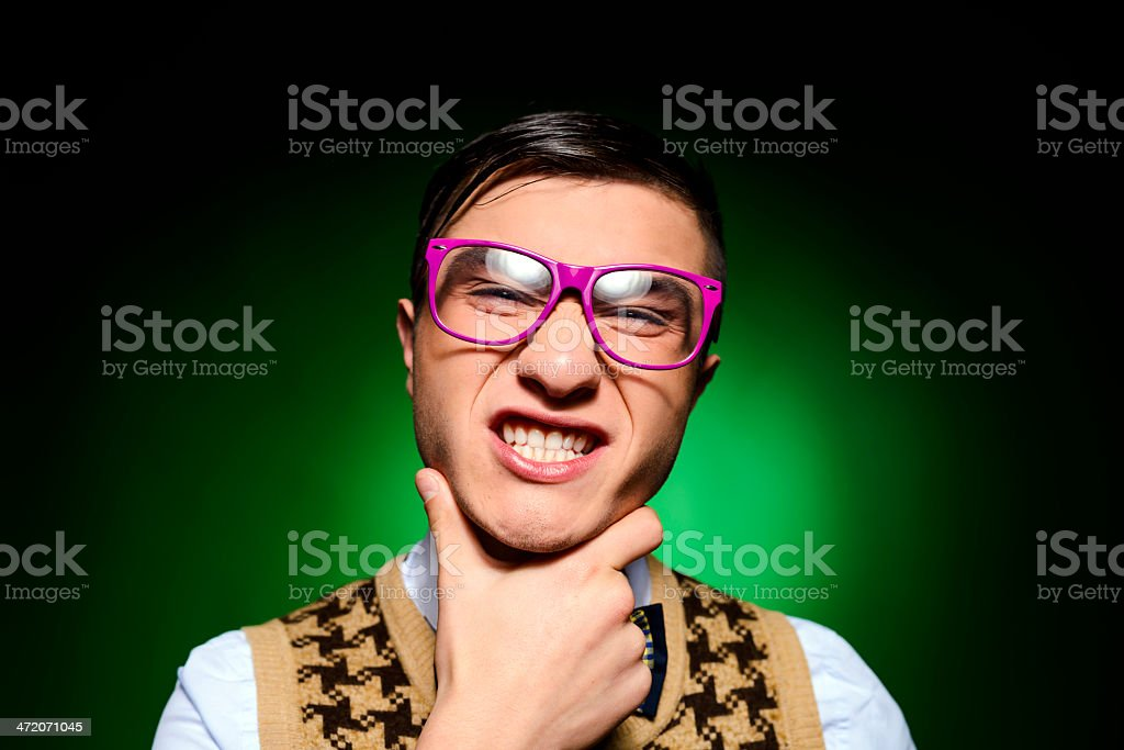 ugliness royalty-free stock photo