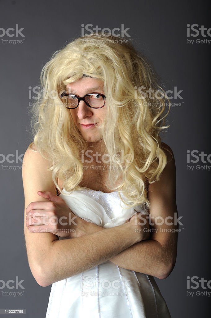 ugly bride royalty-free stock photo