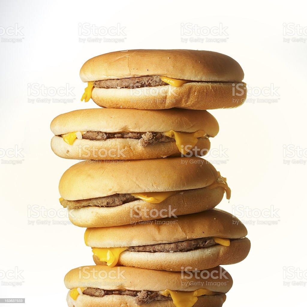 Ugly burger stock photo