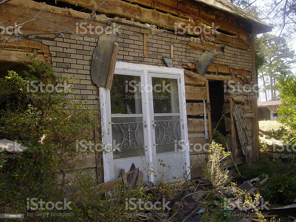 Ugly House stock photo